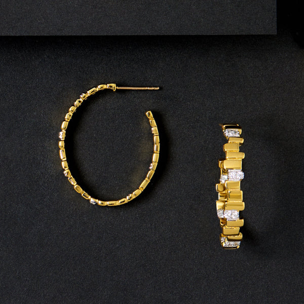 Radiance Hoop Earrings - FREIDA ROTHMAN