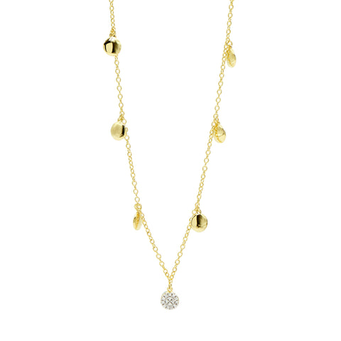 "Radiance Pavé Droplet 36"" Long Necklace"