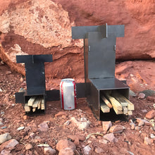 Load image into Gallery viewer, Mini Rocket Stove