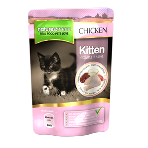 Natures Menu Kitten - Grain Free Chicken