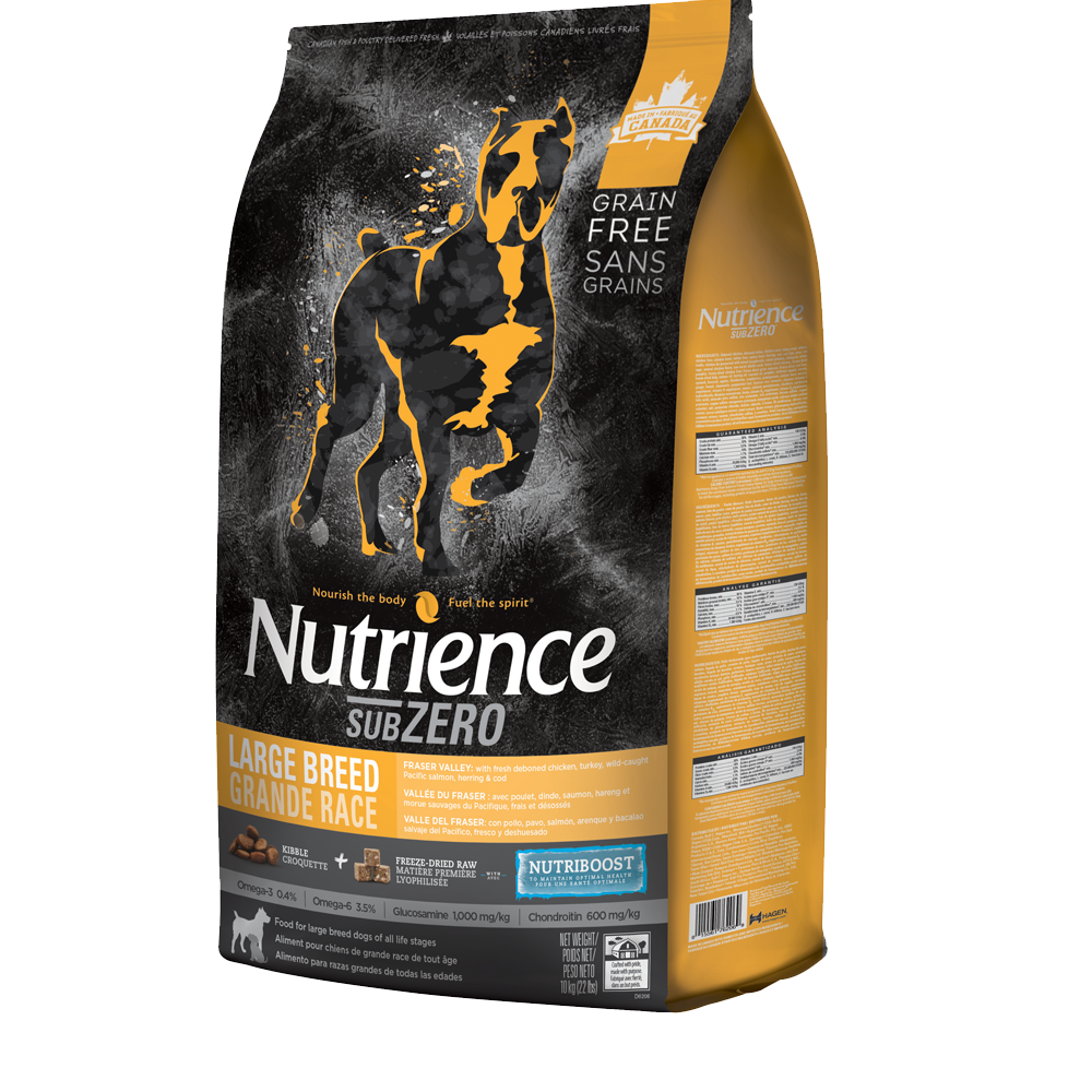 Nutrience Subzero Grain Free Fraser Valley - Large Breed