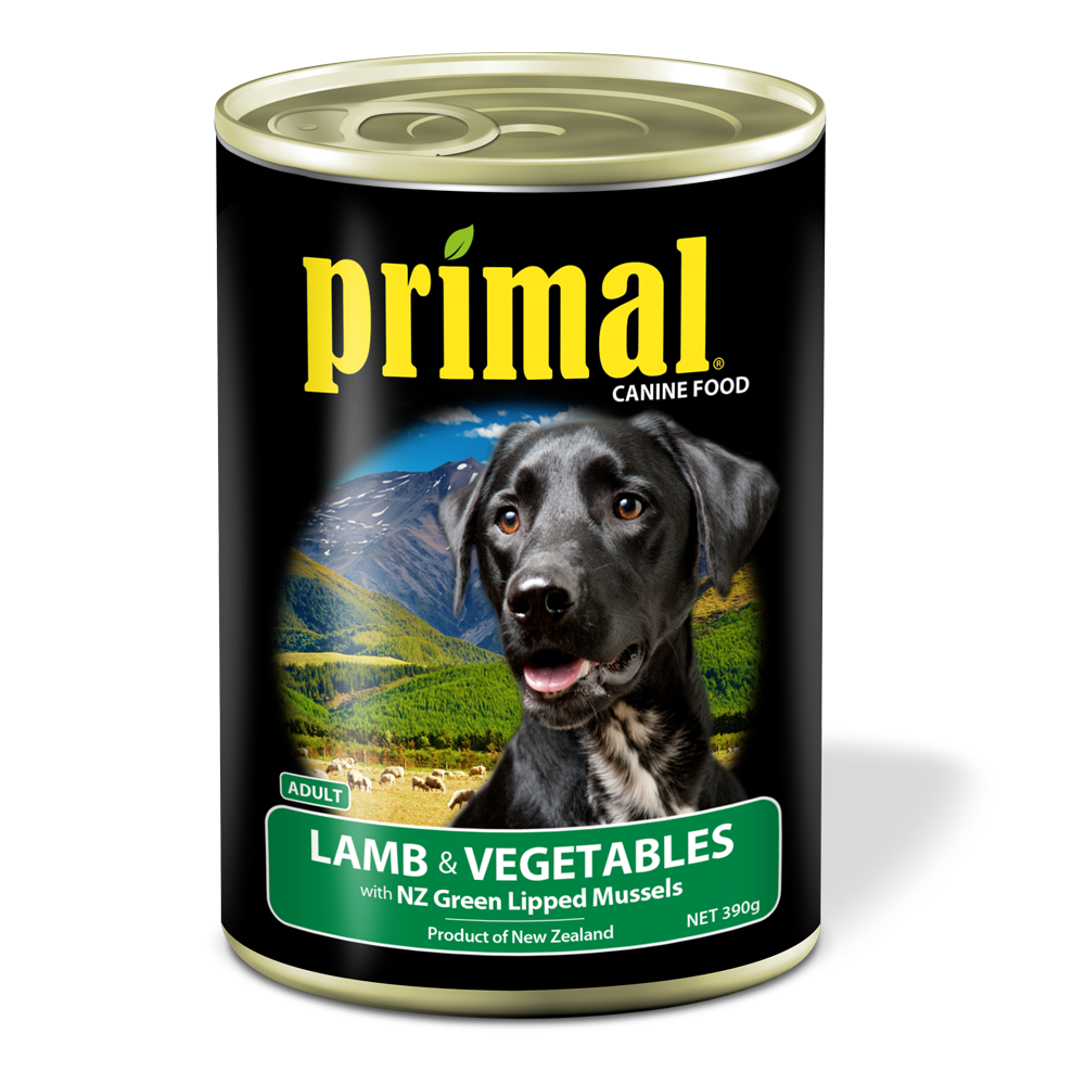 Primal Dog - Grain Free Lamb & Vegetables