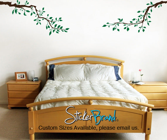 Vinyl Wall Decal Sticker Tree Branches Set #835