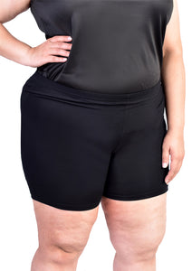 Safety Shorts (Black/Beige)