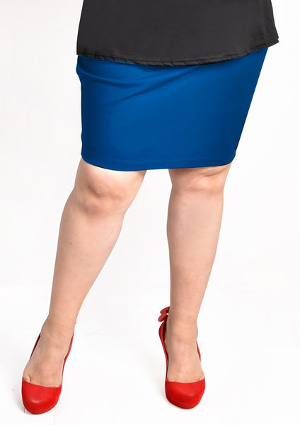 Bandage Skirt (Black/Blue/Dark Blue/Pink)