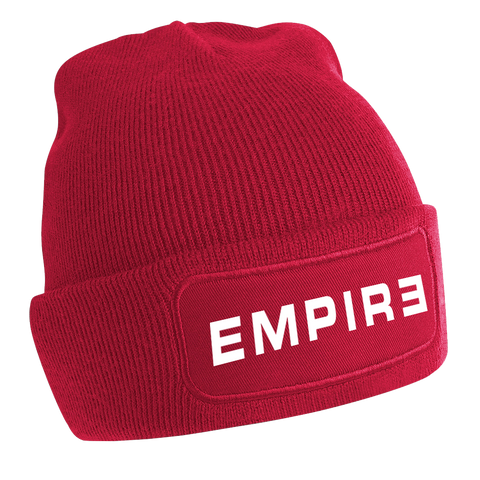 "Bonnet ""EMPIRE"" - Rouge"