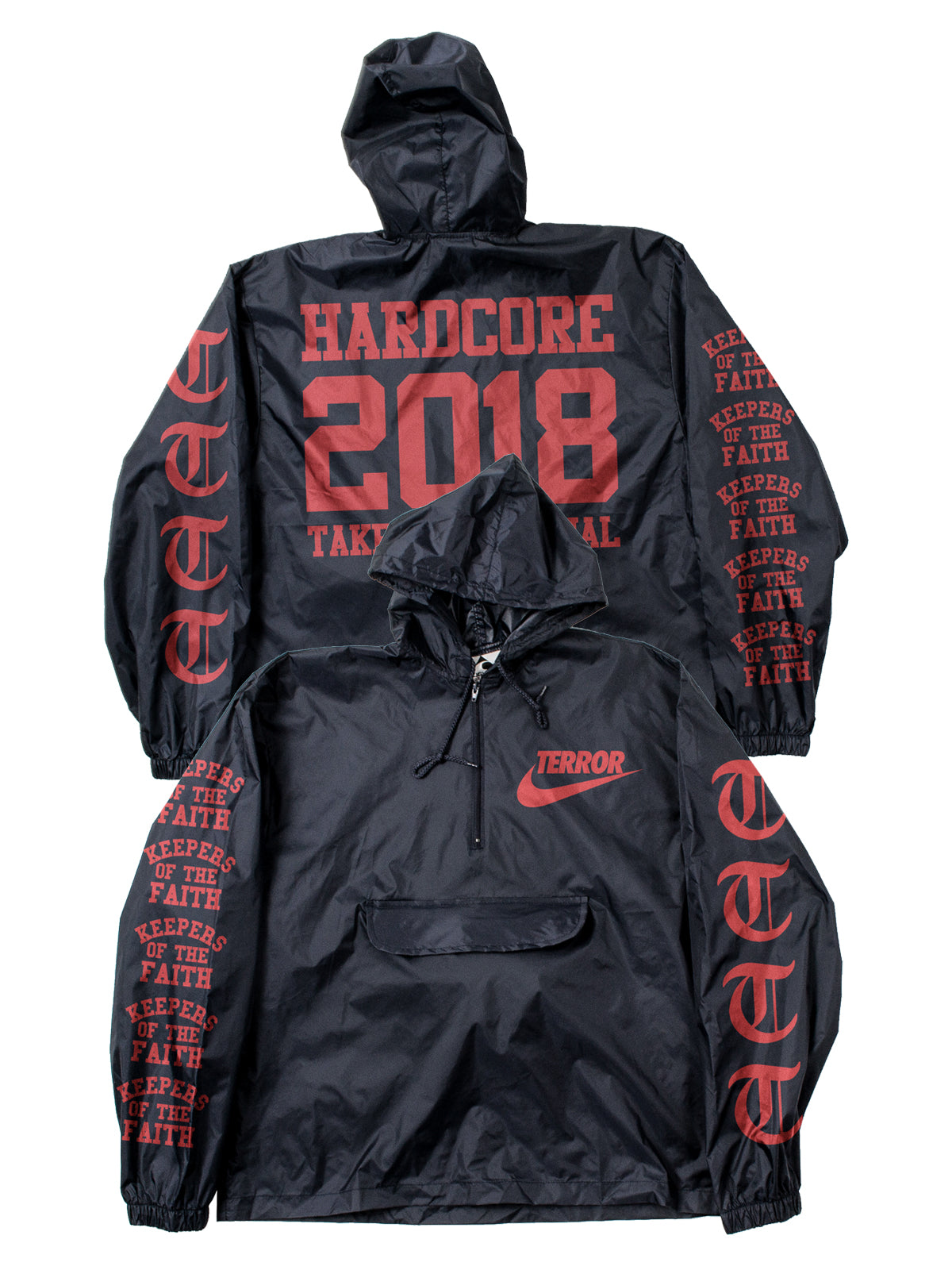 Terror - Take It Personal Packable Windbreaker - Merch Limited