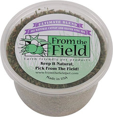 From The Field Ultimate Blend Silver Vine/Catnip Mix Tub 2 oz/Medium