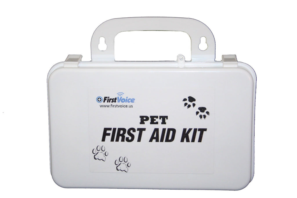 First Voice PET02 Deluxe Pet First Aid Kit