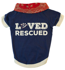"MuttNation Fueled by Miranda Lambert  ""Loved & Rescued Tee Small"