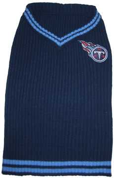NFL Tennessee Titans Pet Sweater, Large