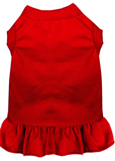 Mirage Pet Products 59-00 XSRD Plain Pet Dress, X-Small, Red