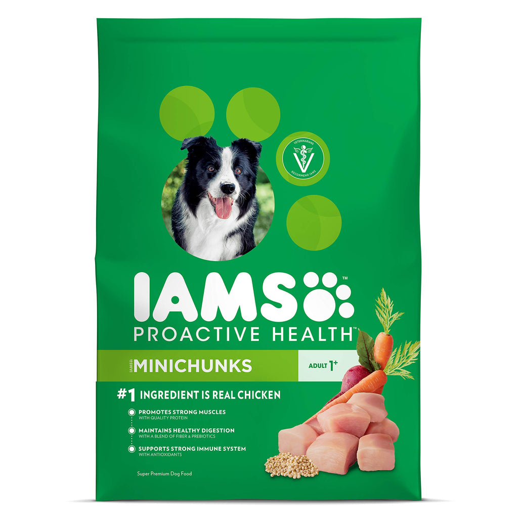 IAMS PROACTIVE HEALTH Adult MiniChunks Dry Dog Food 30 lb