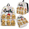 Golden Retriever Backpack Bag A87NTP