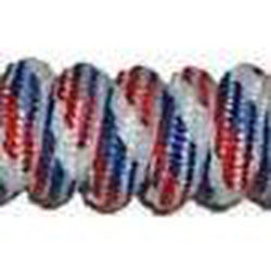 Curly Laces Red White and Blue 6""