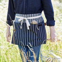 Sophie Conran - Gardener's Apron, Blue Ticking | Aprons | Plant Gifts | The Potted Garden