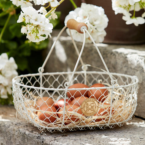 Small Harvesting Basket by Sophie Conran | Baskets & Trugs | Plant Gifts | The Potted Garden