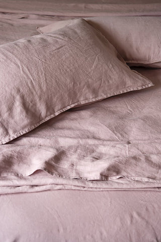 bedtonic sheet set dusky pink
