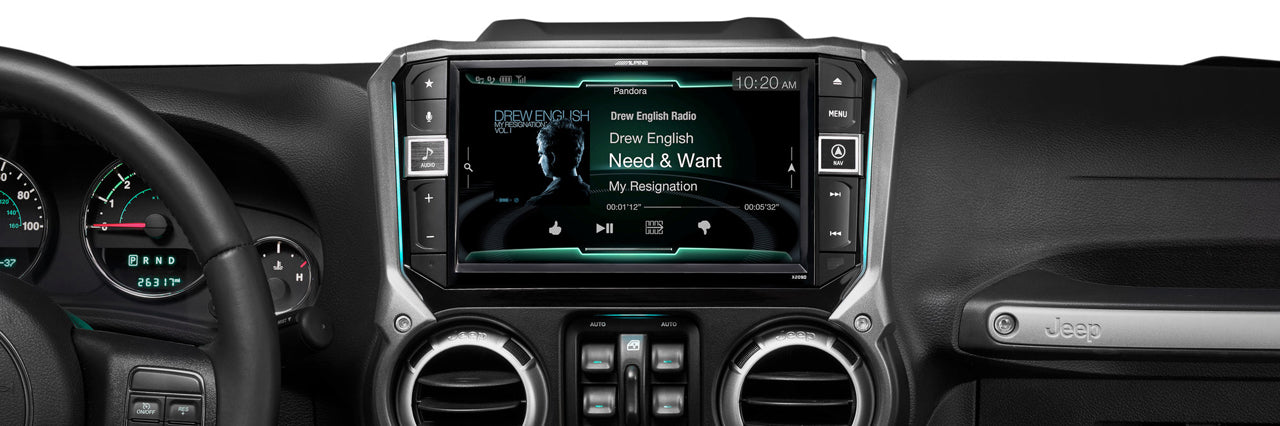 Jeep Car Stereos