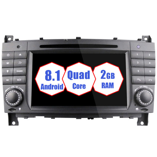 2004-2007 Mercedes Benz C-class W203 Android Car Stereo
