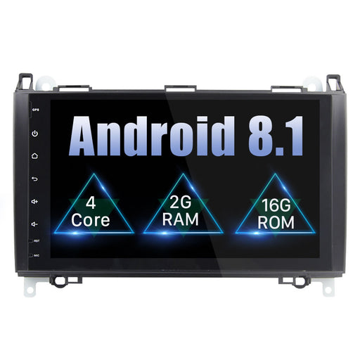 Mercedes Benz B200 Android Car Stereo