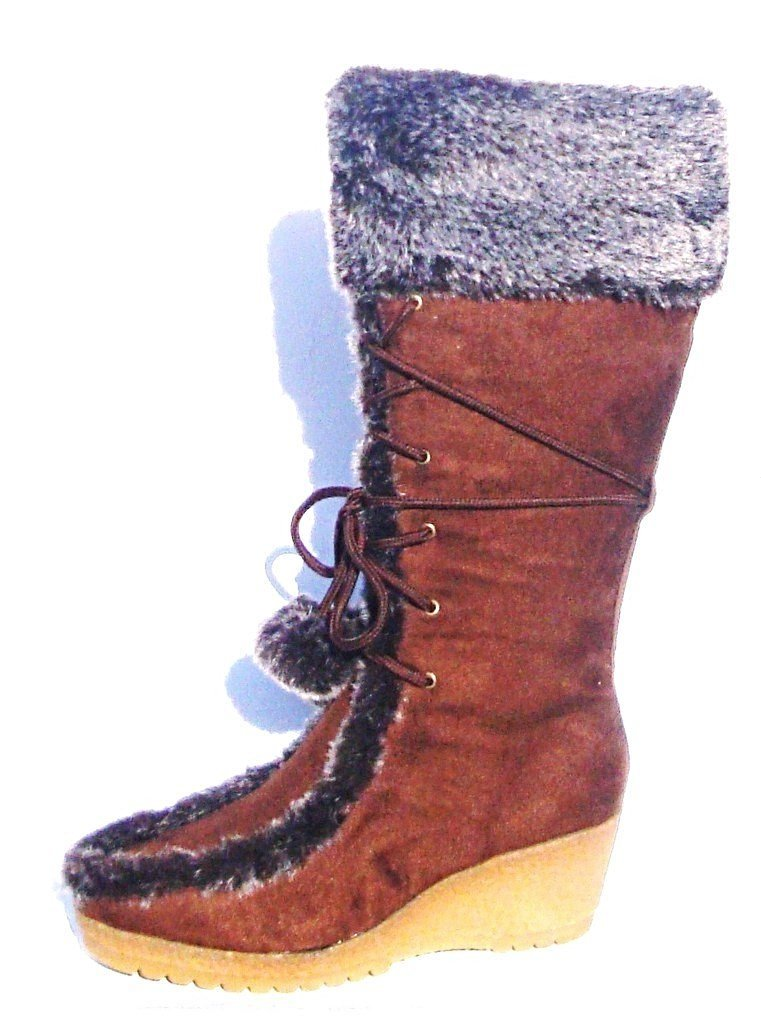 City Brown Boots - LABELSHOES