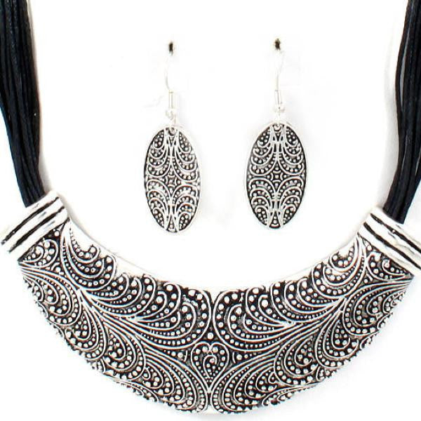 Necklace & Earring Set - 99583 - LABELSHOES
