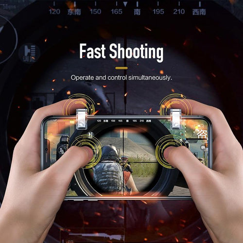 L1 R1 Gaming Trigger Smart Phone Games Shooter Controller Fire Button Handle For PUBG / Rules of Survival bellow 6.5 inches