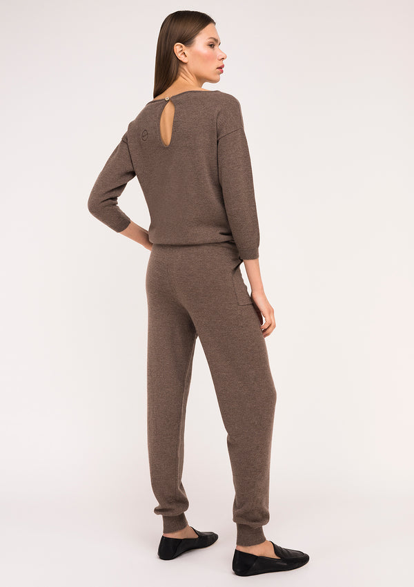 VICTORIA jumpsuit – Chocolate