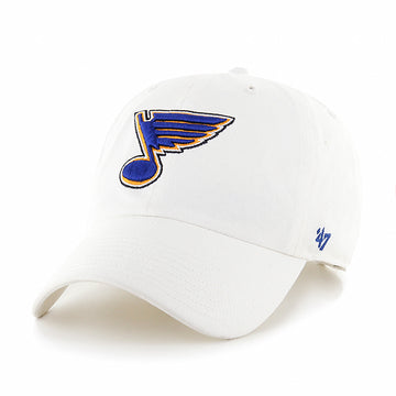 white blues hat bluenote dad cap 47 brand st louis