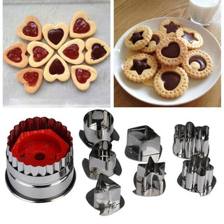7Pcs/lot Cookie Cutter Tools