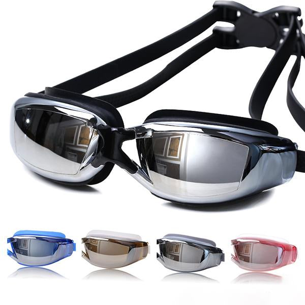 Adjustable Anti-Fog Swimming Goggles-Water Sports-hundredfeel.com-hundredfeel