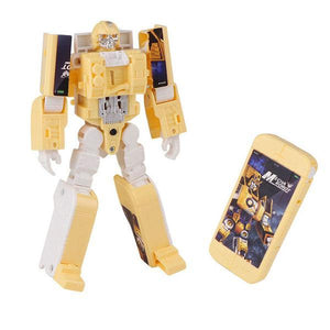 Robot Deformed Watch/Deformed Mobile Phone-toys-hundredfeel.com-YELLOW(PHONE)-hundredfeel