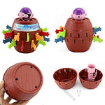 Gadget Jokes Tricky Pirate Barrel Toy Game-toys-hundredfeel-hundredfeel