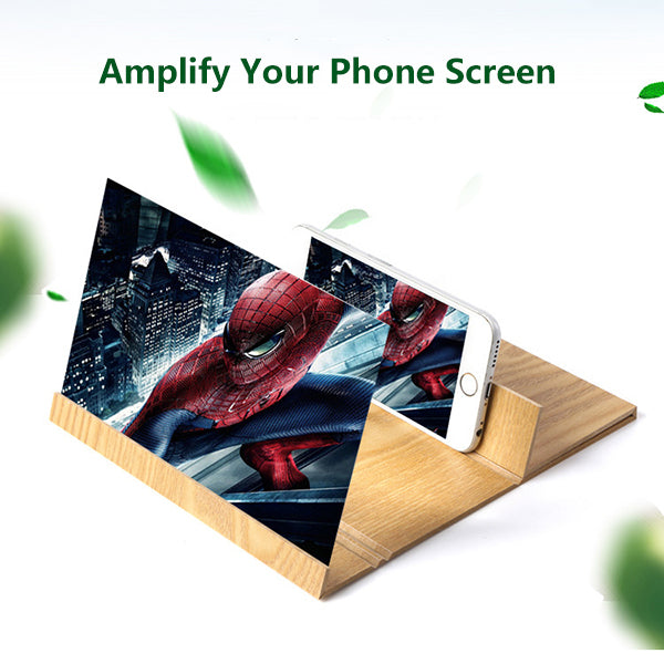 Cellphone Screen Amplifier Compatible with All Smartphone-tools-Hundredfeel.com-GOLD-hundredfeel