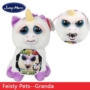 Naughty Little Pet Face Plush Doll Creative Funny Toy-toys-hundredfeel.com-01-hundredfeel