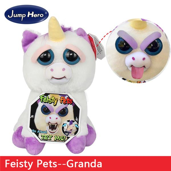 Naughty Little Pet Face Plush Doll Creative Funny Toy-toys-hundredfeel.com-03-hundredfeel