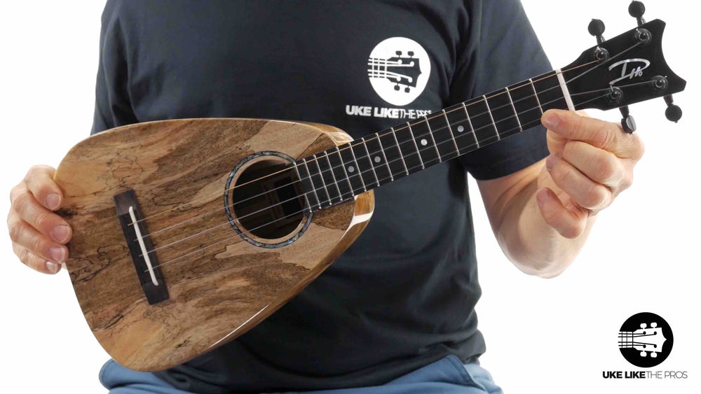 "Romero Creations ST Concert Ukulele Spalted Mango RC-ST-MG ""Angel Wings"" with MISI Pickup"