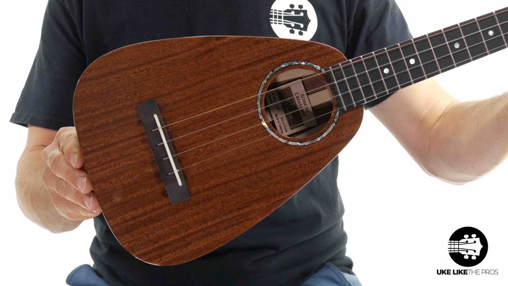 "Romero Creations Daniel Ho Tiny Tenor Ukulele Mahogany RC-TT-M ""Midnight"""