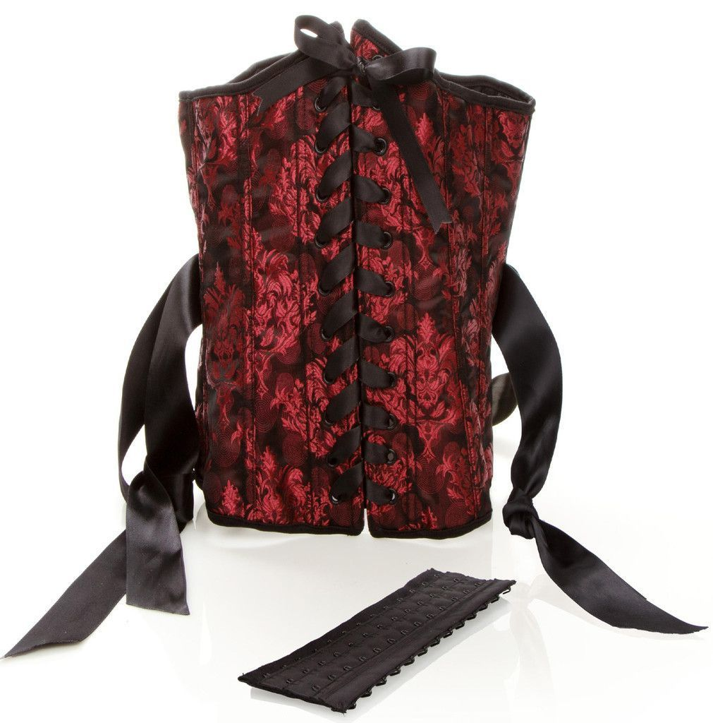 Scandal Luxurious corset With Cuffs, Fully adjustable lace-up design
