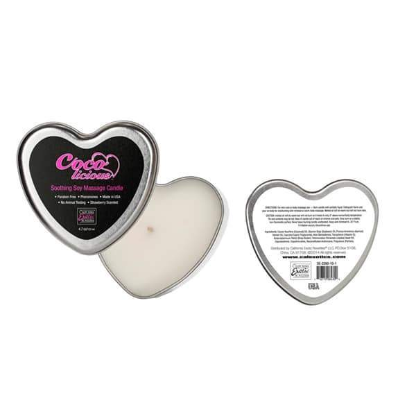 Coco Licious Soothing Soy Massage Candle