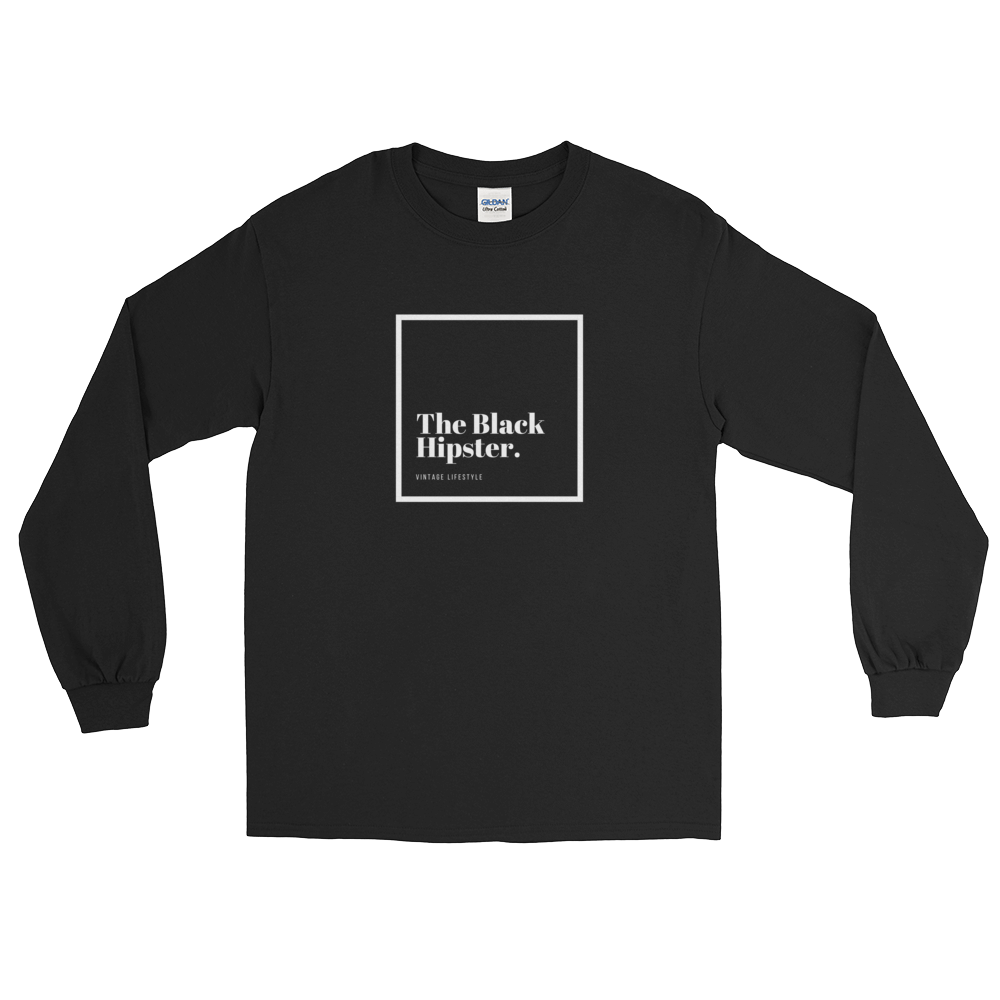The Black Hipster. Original-Inverted Long Sleeve