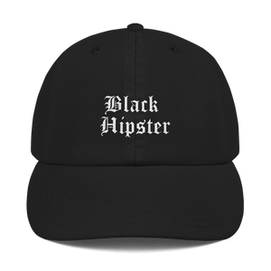 Champion Black Hipster Dad Hat
