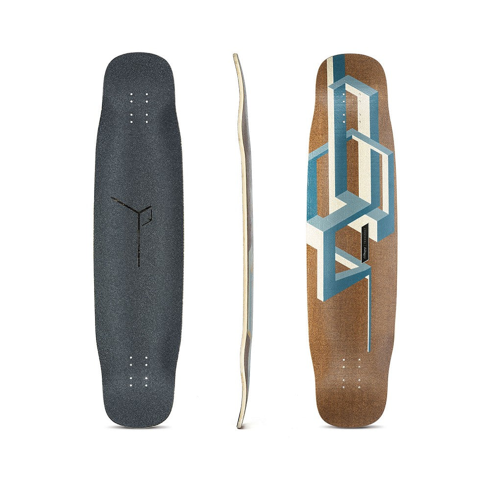 Loaded Deck Basalt Tesseract - Dark Blue