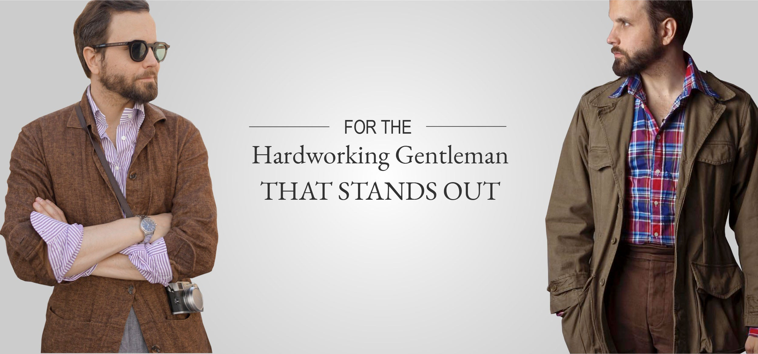 FOR THE  Hardworking Gentleman THAT STANDS OUT