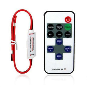 1pcs 12V RF Wireless Remote Switch Controller Dimmer 10-level Dimmer For Mini LED Strip Light