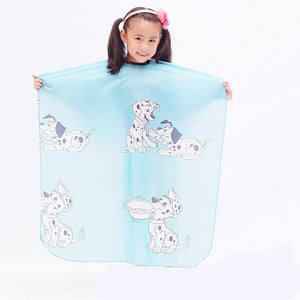 Kid Hair Cut Hairdresser Cloth Dressing Cape Gown Cover Barber Salon Tools Cartoon Dog Hair Styling Hairdresser Waterproof Cloth