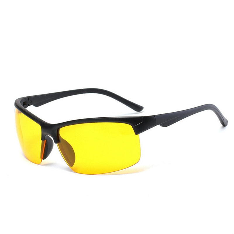 Outdoor Night Vision Glasses Yellow Lens