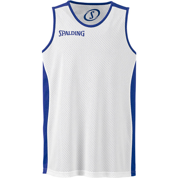 Spalding Essential Reversible Basketball Kit Royal White