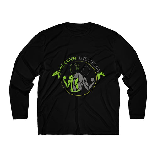 Live Green Live Strong Long Sleeve Moisture Absorbing Tee